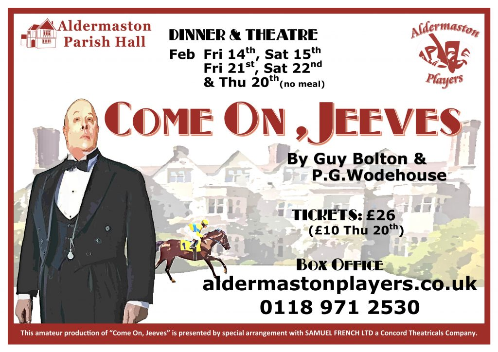 Come On Jeeves - aldermaston Players